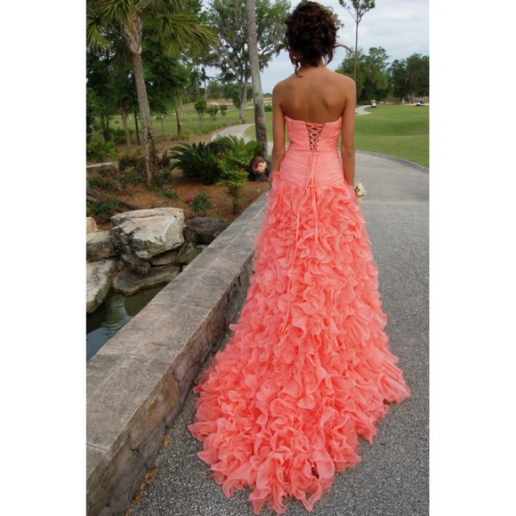 dress prom dress fairytale