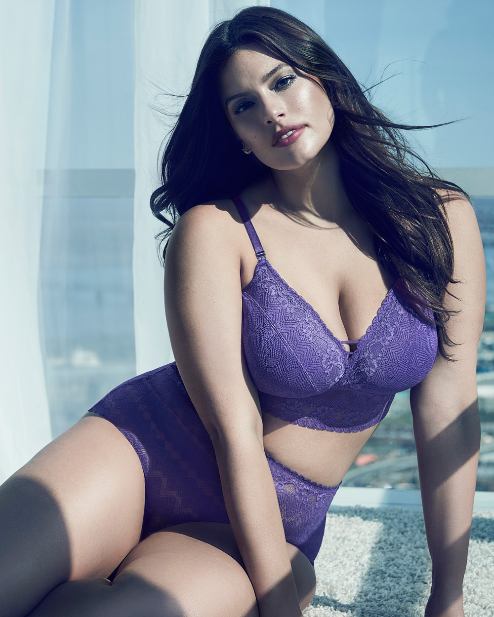 c661bee38d199 plus-size-addition-elle-Ashley-Graham-Lace-Bralette-and-matching ...