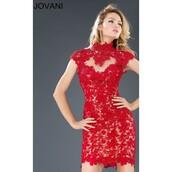 dress,lace dress,black dress,evening dress,jovani prom dress,trendsgal.com
