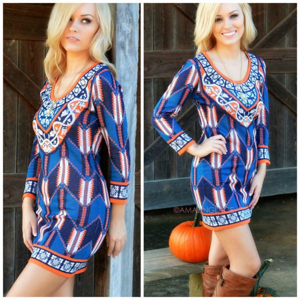 2ca7e543eec geometric sweater dress bodycon dress fall dress fall outfits amazing lace  ootd navy printed dress trendy