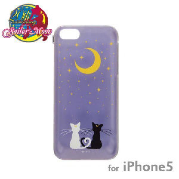Sailor Moon Character Hard Case for iPhone5 (Luna and Artemis)