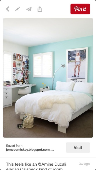 home accessory teenage chanel poster hipster fashion