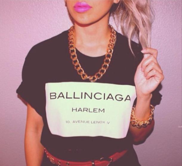Ballinciaga harlem shirt