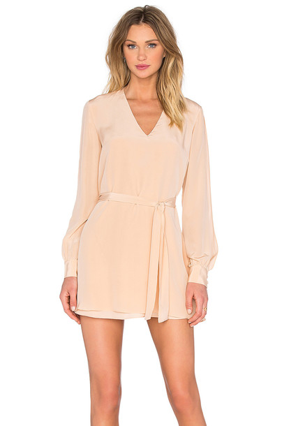 Keepsake dress tunic dress high blush