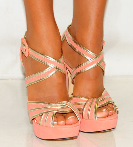 NEW LADIES STRAPPY SANDALS PLATFORMS STILETTO HIGH HEELS SHOES SIZES 3,4,5,7,8 | Amazing Shoes UK