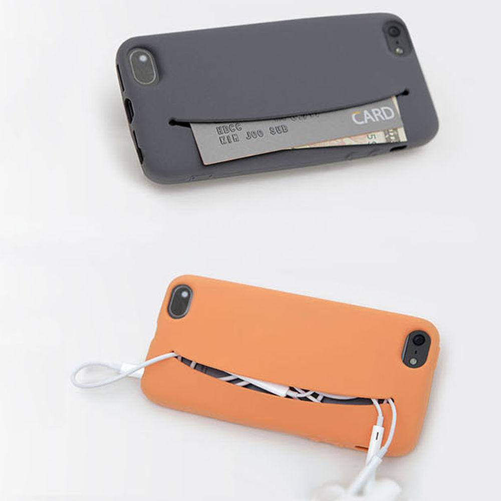 Korean Card Holder Pocket Feed Me Mobile Cell Phone Case for ... f7646d43c