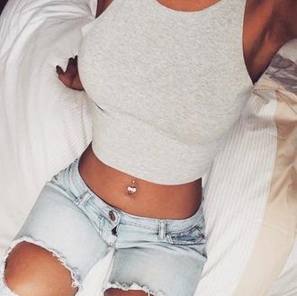 shirt crop tops cute top summer jeans pants