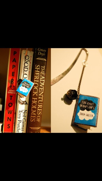 home accessory the fault in our stars the fault in our stars bookmark