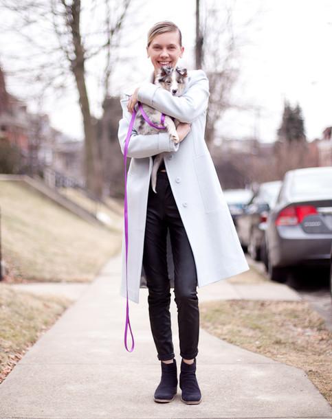 cocorosa blogger winter coat coat top pants shoes