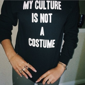 shirt white sweater black t-shirt black top black sweater long sleeves style fashion unisex