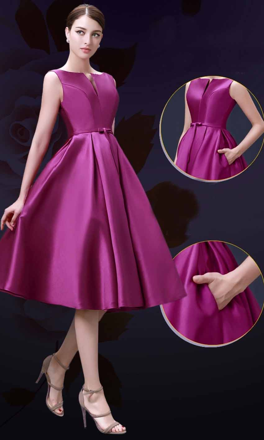 Mid Length Formal Dresses
