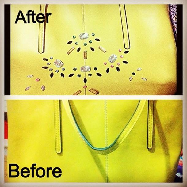bag yellow bag