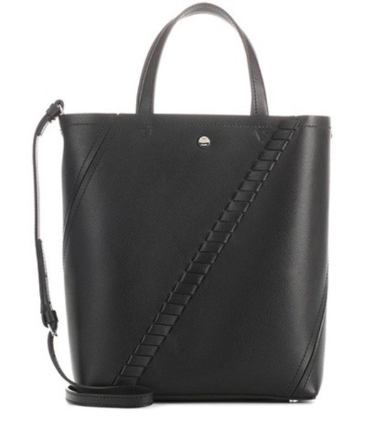 Proenza Schouler mini leather black bag
