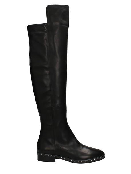 Marc Ellis black leather boots leather boots leather black black leather shoes