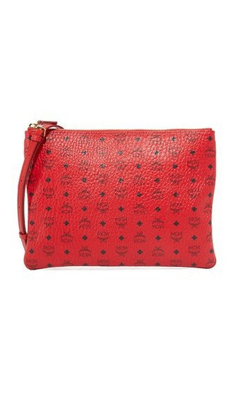 cross pouch red bag