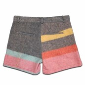 shorts,colorful,stripes