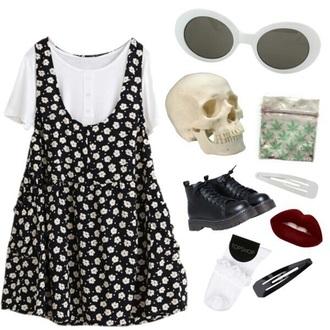 dress grunge cute aesthetic fashion tumblr 90s style