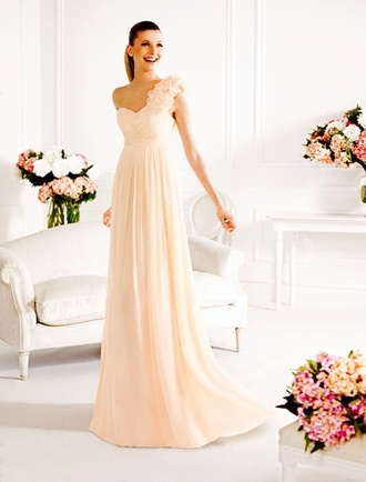 long prom dress prom dress pink dress long dress wedding clothes bridesmaid dress