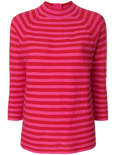 Marc Jacobs top knitted top women cotton red