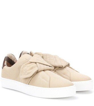 sneakers beige shoes