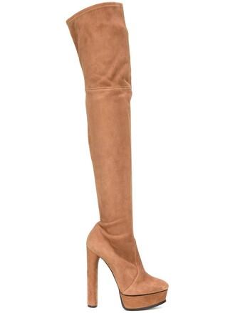 heel high heel high boots platform boots nude shoes