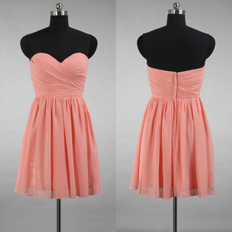 dress prom prom dress peach peach dress mini mini dress short short dress love lovely pretty fashion fashionista style stylish trendy girly cute cute dress sexy sexy dress sweetheart dress sweet strapless strapless dress gorgeous beautiful cool amazing special occasion dress