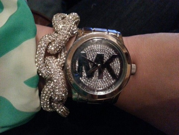jewels bling michael kors watch michael kors michael kors