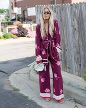 shoes,high heel sandals,wide-leg pants,floral pants,sunglasses,mini bag