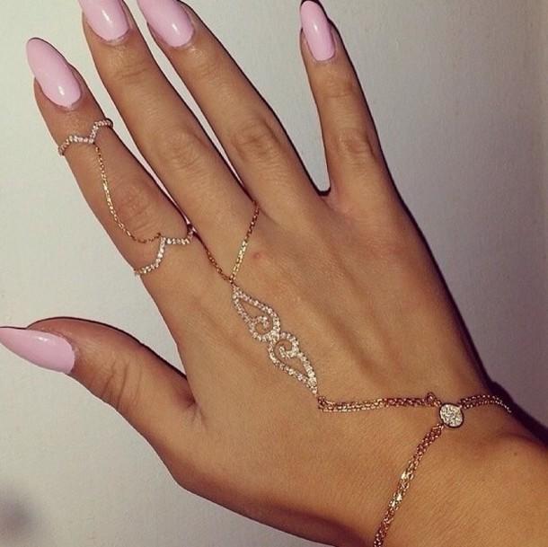 jewels bracelets pretty gorgeous diamonds rhinestones ring