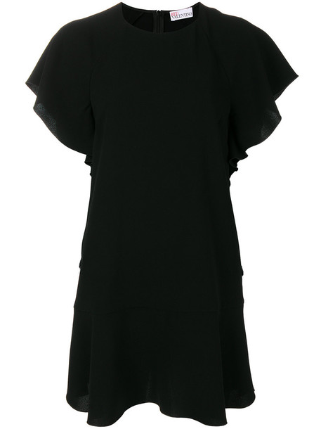 RED VALENTINO dress women black