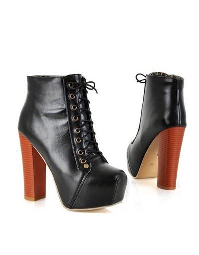Winter fall brown black fashion trend