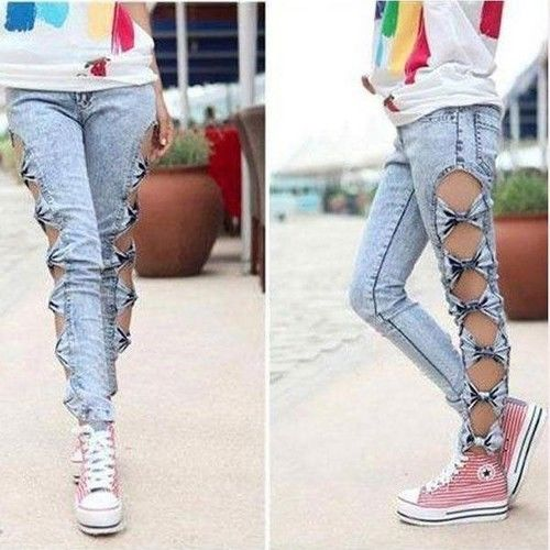 Ripped Jeans Juniors - Xtellar Jeans