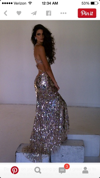 dress gold sequins prom dress long prom dress open back prom dress open back dresses low back dress elegant dress