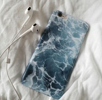 phone cover water pattern wave blue case iphone iphone cover ipod touch case iphone 5 case ocean iphone tumblr iphone case etsy marble grunge