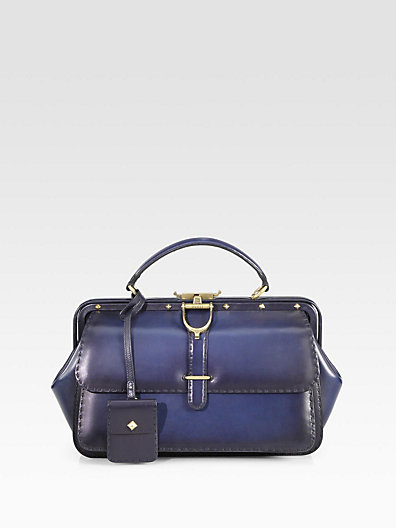 Gucci - Lady Stirrup Medium Top Handle Bag - Saks.com