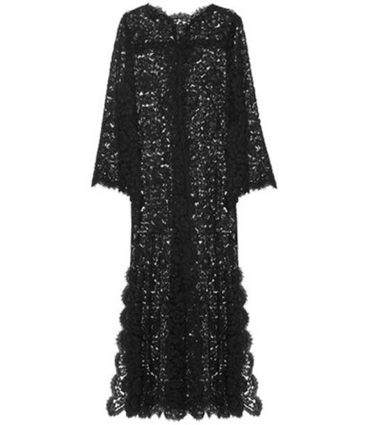 Dolce & Gabbana dress maxi dress maxi lace black