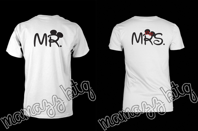 mamazzboutique mr mrs mickey couple shirts online. Black Bedroom Furniture Sets. Home Design Ideas