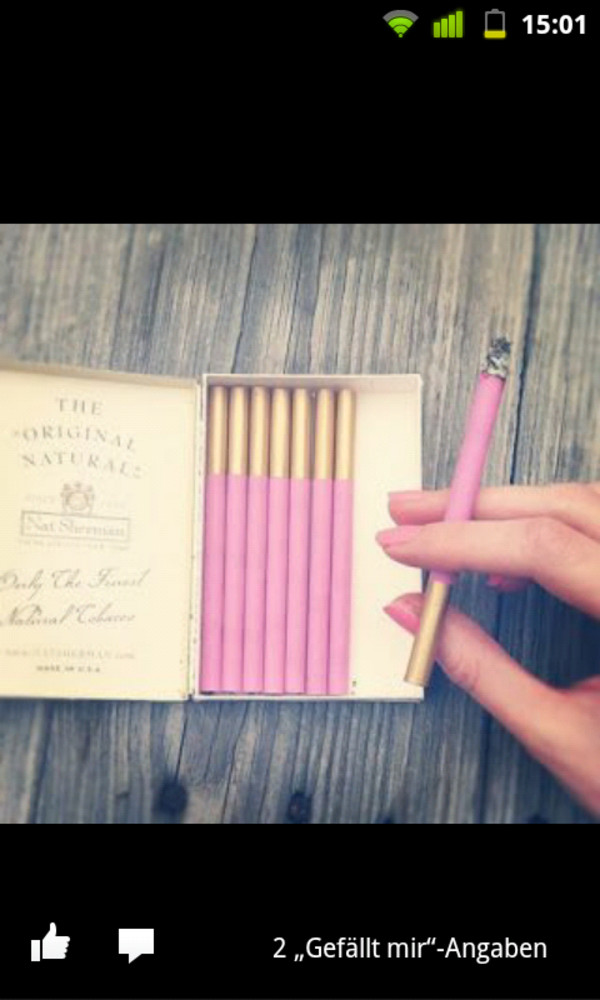 hat pink cigarette cigarette