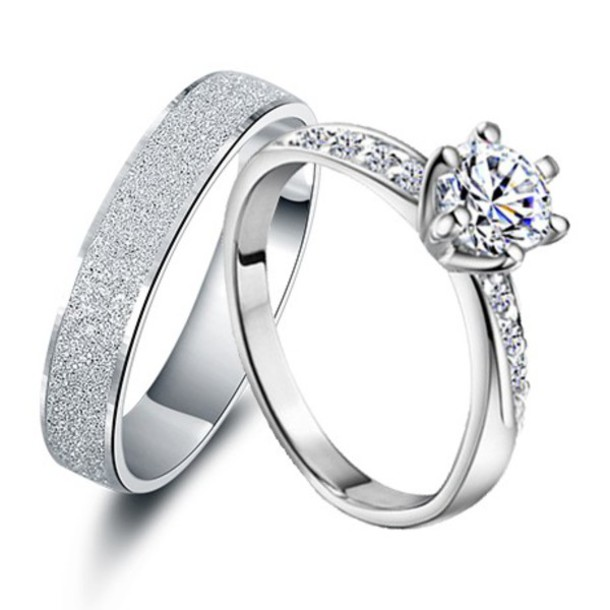 jewels couples rings set valentines his and