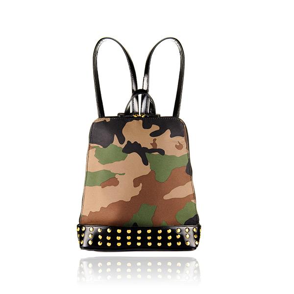 Shayne camo bagpack