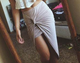 skirt beige skirts