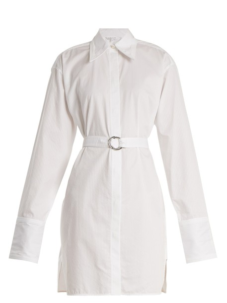 Helmut Lang shirtdress cotton white dress