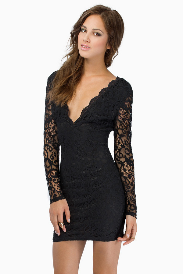 Scent Of A Lacey Dress - Tobi