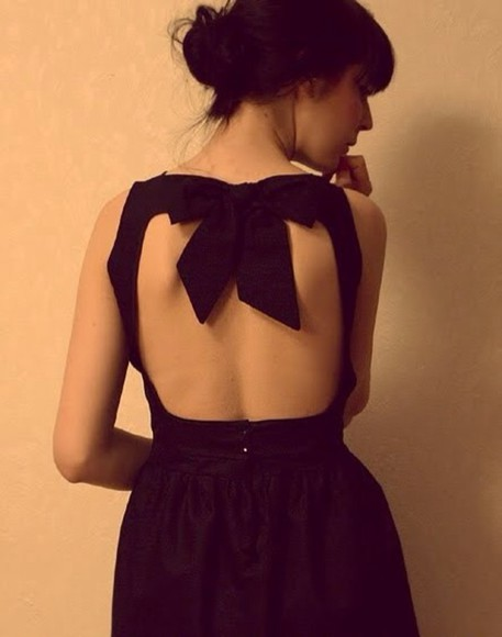 little black dress pinterest dress bows