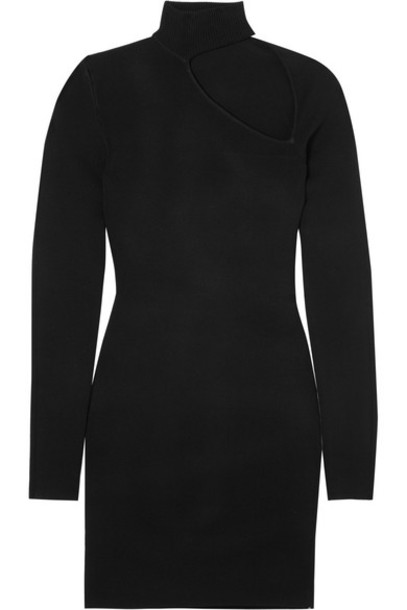 Dion Lee dress mini dress mini black knit
