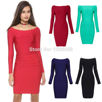 Aliexpress.com : Buy Factory Direct New Arrival Knit elastic Dress 2014 Colorblock Purple Halter Strap Bandage Dress H071 Party Dress Free Shipping from Reliable dress cheongsam suppliers on Lady Go Fashion Shop