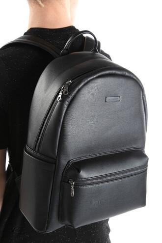 bag leather backpack leather bag black unisex