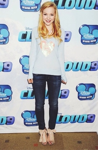 jeans dove cameron disney descendants disney descendants cloud 9 premiere movie movie premiere liv and maddie disney channel