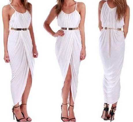 Outletpad | Sleeveless beach dress cross With metal belt Beige | Online Store Powered by Storenvy