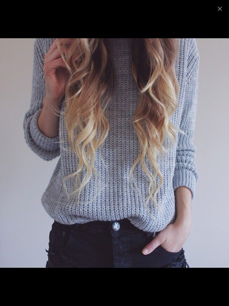 sweater grey sweater alex centomo grey knit style fall outfits grey sweater knitsweater fall outfits fall sweater